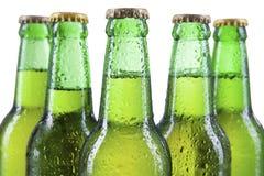 Garrafas de cerveja fria Imagem de Stock Royalty Free