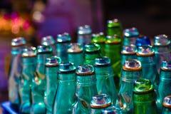 Garrafas de soda fotografia de stock royalty free