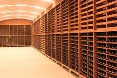 Garrafas de vinho Imagens de Stock