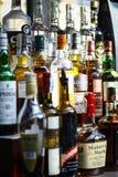 Garrafas do álcool Foto de Stock