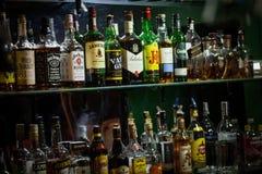 Garrafas do álcool Imagens de Stock
