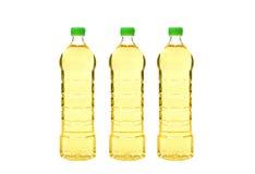 Garrafas do óleo vegetal Imagem de Stock