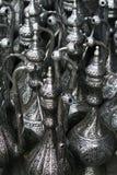 Garrafas do metal Imagens de Stock