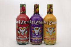 Garrafas do refresco do Arizona Imagem de Stock