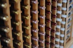 Garrafas do vinho Imagem de Stock