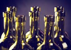 Garrafas do vinho Fotografia de Stock Royalty Free