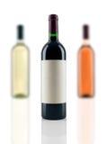 Garrafas do vinho imagem de stock royalty free