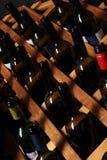 Garrafas do vinho imagens de stock