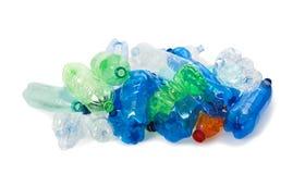 Garrafas plásticas Imagem de Stock