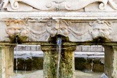 Garraffello fontanna w Palermo, Włochy Zdjęcia Royalty Free