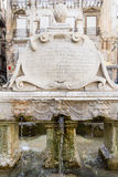 Garraffello fontanna w Palermo, Włochy Fotografia Royalty Free