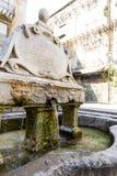 Garraffello fontanna w Palermo, Włochy Zdjęcie Royalty Free