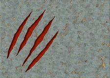 Garras del monstruo Imagen de archivo libre de regalías