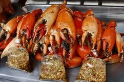 Garras do caranguejo Imagens de Stock