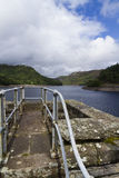 The Garreg-ddu Reservoir. Stock Photos