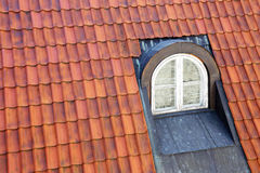 Garret window Stock Photo