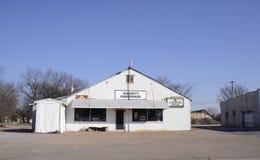 Garrett五金店,西部孟菲斯,阿肯色 库存图片