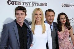Garrett Hedlund, Gwyneth Paltrow, Leighton Meester, sakkunniga Royaltyfria Foton