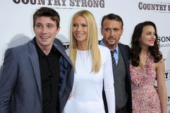 Garrett Hedlund,Gwyneth Paltrow,Leighton Meester,Tim Mcgraw Royalty Free Stock Image