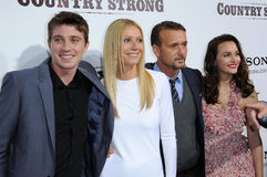 Garrett Hedlund,Gwyneth Paltrow,Leighton Meester,Tim Mcgraw Stock Image