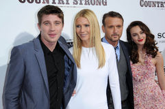 Garrett Hedlund,Gwyneth Paltrow,Leighton Meester,Tim Mcgraw Royalty Free Stock Photos