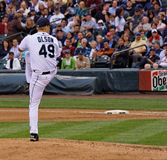 Garrett Olson Pitcher Royalty Free Stock Photo