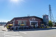 Garrison Brewing Company em Halifax, Canadá fotos de stock royalty free