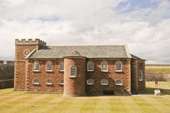Garrison Chapel at Fort George, Scotland  Stock Image