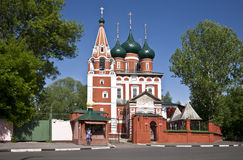 The garrison Church of the Archangel Michael. Yaroslavl. Russia Royalty Free Stock Images