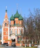 Garrison Church av Michael ärkeängeln av Yaroslavl fotografering för bildbyråer
