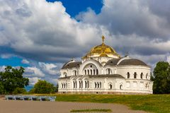 Garrison church in Brest fortress, Belarus royalty free stock photography