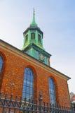 Garrison Church in Copenhagen Royalty Free Stock Photography
