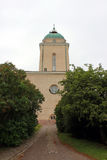 Garrison church in the sea fortress of Suomenlinna. In Finland Stock Images