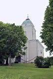 Garrison church in the sea fortress of Suomenlinna Stock Photo
