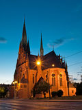 Garrison Church of St. Catherine in Torun, Poland. Stock Photo