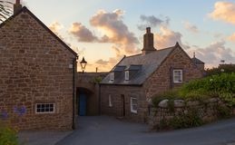 The Garrison at dawn, St Mary's, Isles of Scilly, England Stock Photography