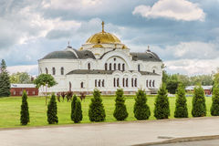 Garrison St. Nicholas Church in Brest Royalty Free Stock Image