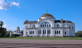 Garrison St. Nicholas Church (Garrison cathedral) in Brest Royalty Free Stock Image