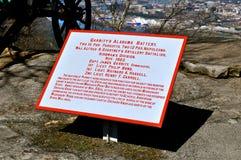 Garritys Alabama Battery Stock Images