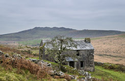 Garrow Tor on Bodmin Moor in Cornwall Royalty Free Stock Images