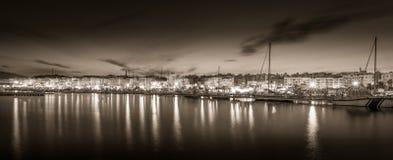 Garrucha τή νύχτα Στοκ Φωτογραφίες