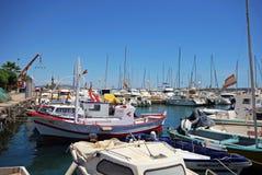 Garrucha-Hafen, Spanien stockfotos