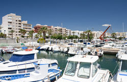 Garrucha Harbor and Marina Stock Image