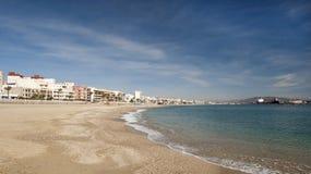 Garrucha Main Beach Stock Photography