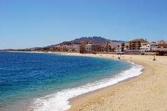 Garrucha plaża Obraz Stock