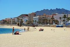 Garrucha plaża Zdjęcie Royalty Free