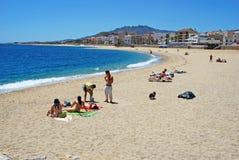Garrucha plaża Fotografia Royalty Free