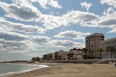 Garrucha Town Beach Stock Photos