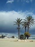 Garrucha Town Beach Stock Images