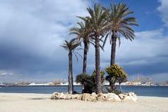 Garrucha Town Beach Royalty Free Stock Photo